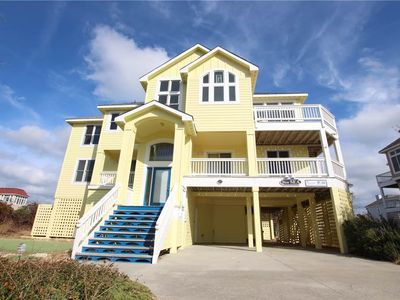 Photo for #PI184: Partial OCEANVIEW Home in Corolla w/PrivatePool, HotTub & RecRm
