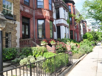 Photo for Dupont Circle Truly best Location in DC, Charming Victorian, light 2nd flr apt.