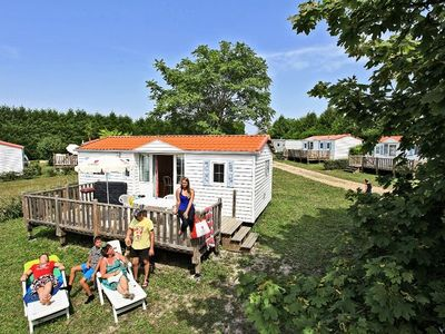 Photo for Camping Le Petit Trianon **** - Mobile Home 4 Rooms 6 People Classic