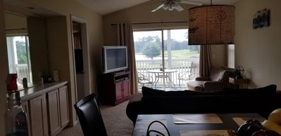 Photo for Quiet Norh Myrtle  Beach condo on 9th hole of Aberdeen golf course in longs SC