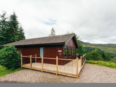 Photo for Buzzard - a beautiful 4 star holiday chalet surrounded by a true Highland landscape that can sleep