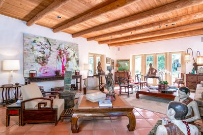 Living Room - Your TurnKey rental combines the amenities of a boutique hotel with the comforts and privacy of your own home.