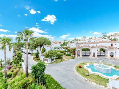 Photo for TRENDY SUNNY 2 BEDROOM PENTHOUSE IN ALOHA VILLAGE, NUEVA ANDALUCIA, GOLF VALLEY NEAR PUERTO BANUS