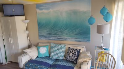 Photo for Beach bungalow with hardwood floors, beach chairs, towels, boogie boards etc!