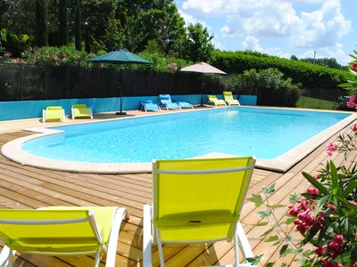 Photo for The Drouant, a 3 Bedroom gite set in acient barn with large shared swimming pool