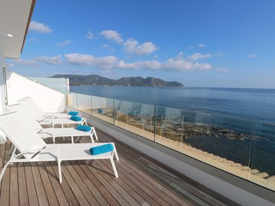 "Photo for PENTHOUSE ""SKY"", newly renovated, top modern, fantastic sea view + lots of sun"