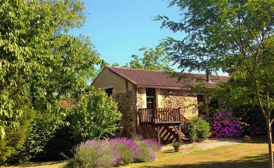 Photo for French Holiday rental in the Périgord. XVIII th Century stone farmhouse.