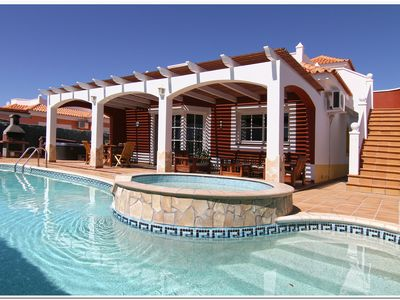 Photo for 4 bed Luxury Villa - Private Pool, Large Jacuzzi and Table Tennis
