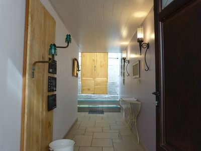 Photo for Apartment 110m², sleeps 8 with large terrace in the heart of Ax les Thermes