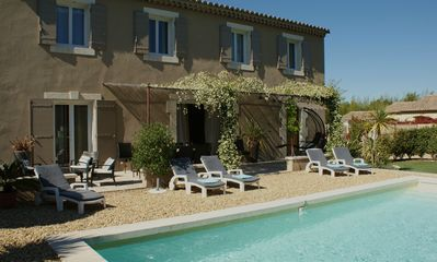 Photo for Clos Des Oliviers St Remy de Provence, calm close to the city center