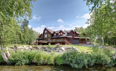 Photo for Stunning Lakefront Home Near Anchorage