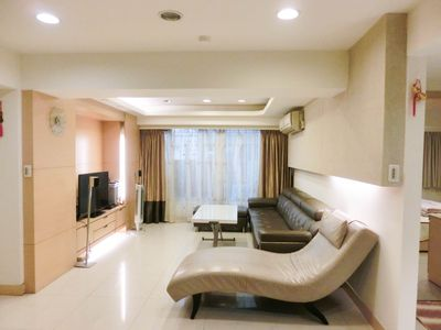 Photo for 3 rooms/3beds/2bath/Daan Park MTR 5mins/Taipei101/Yong Kong area/S6