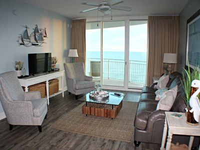 Photo for Largest 1BR Plan, 5th Floor, Free Beach Chairs, Renovated, Onsite Management!