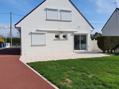 Photo for Spacious house with garden 1.5 km from the beach.