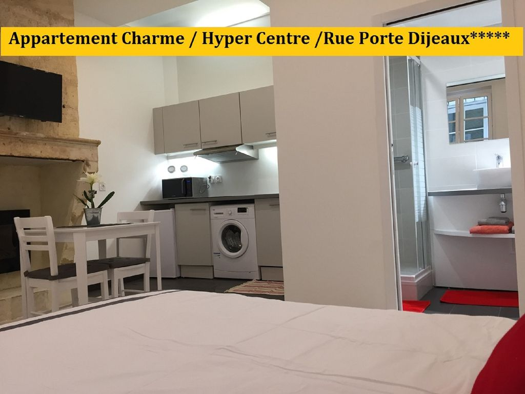 Appartement de charme hyper centre rue porte dijeaux for Appartement bordeaux hyper centre location