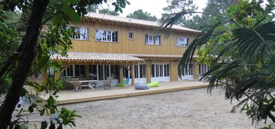 Photo for House / Villa - Cap-Ferret village - 2 houses at 150m from the beach