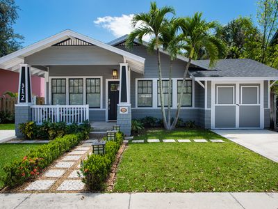 Photo for Historic Craftsman Bungalow Steps From Intracoastal, Restaurants, and Downtown