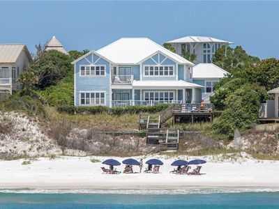 Photo for C Cottage - Gulf Front, Blue Mountain Beach, Great Views, Private Boardwalk!