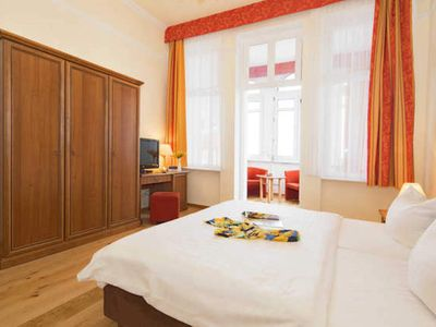 Photo for large double room with sea view - Promenadenhotel Kaiser Wilhelm