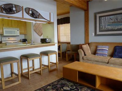 Photo for Wood Creek #301: 2 BR / 2 BA condos and townhomes in Mt. Crested Butte, Sleeps 6