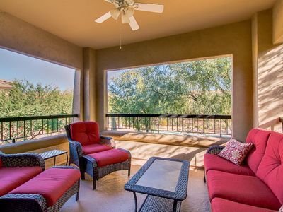 Photo for Poolside condo in Village at Grayhawk, 3br, 2 bath, recently up-dated&furnished