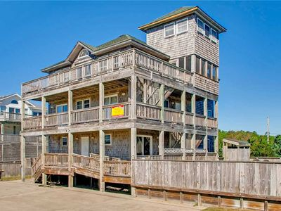 Photo for Spacious Oceanview Home, Waves w/ Elevator, Pool, Hot Tub, Game Rm, Dog-Friendly