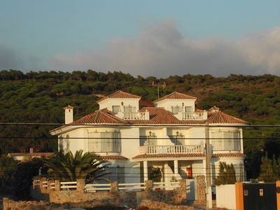 Photo for Large villa located On the Beach (50 meters) with Magnificent Sea Views