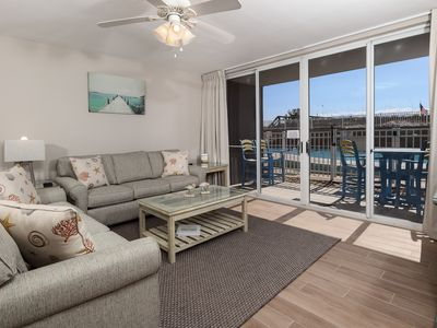 """Photo for """"Island Princess Unit 109"""" Beautiful ground Floor Unit, Just steps from the Pool!"""