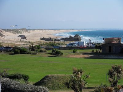 Photo for T1 bis with sea view 100m beach in front of the CERS - 4 sleeps
