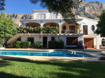 Photo for Villa With Private Pool Set In The Magnificent Montgo Mountain National Park