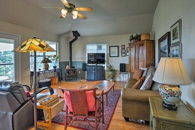 The 1,550-square-foot home will make you feel right at home!