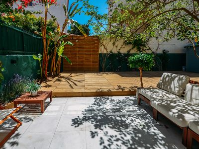 Photo for Beautiful Family Apartment with Courtyard
