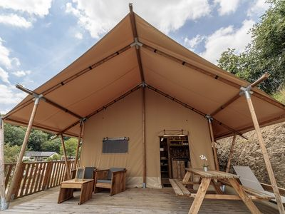 Photo for Safari Tent WOODY (1-5 p.)