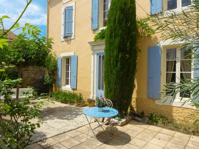 Photo for Nice house with private pool in a charming village