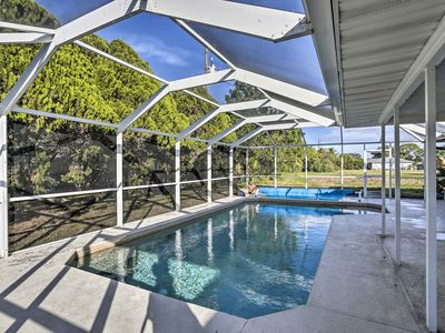 Photo for NEW! Tranquil Cape Coral Home w/ Pool and Patio!