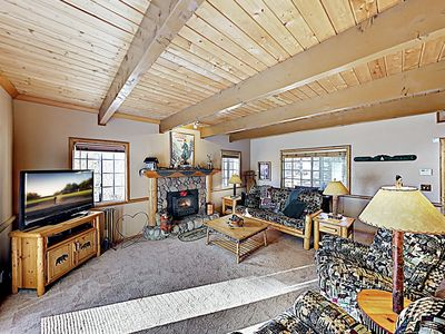 Living Room - Welcome to Big Bear! This home is professionally managed by TurnKey Vacation Rentals.