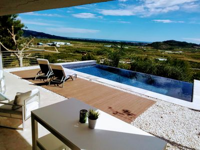 Photo for Villa Sea View Over Gandia Infinity Pool And Lift