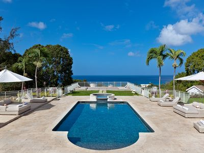Photo for Tropical Luxury with Pool and Stunning View - High Breeze