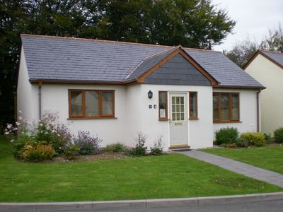 Photo for Inny Glade. Quiet, spacious streamside bungalow.  North Cornwall.