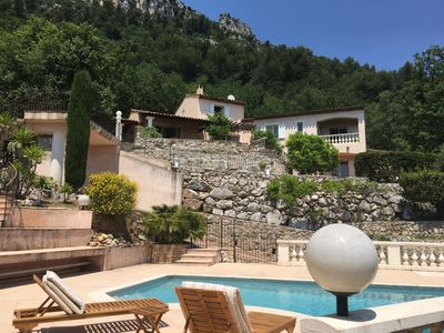 Photo for Quiet, comfortable studio with a panoramic view of The French Riviera