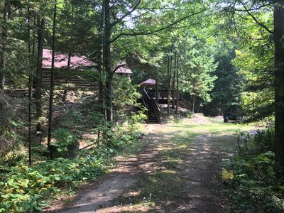 Cottage Nestled in the Woods w/ Private Beach Access - Balm Beach - Tondakea