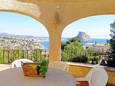 Photo for Vacation home Villa Oblada in Calpe/Calp - 8 persons, 4 bedrooms