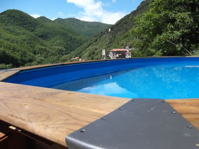 Photo for A traditional Catalan house with exclusive use of south facing swimming pool