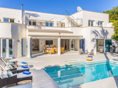 Photo for Cala Dor Luxurious Sea Vews Villa with Pool