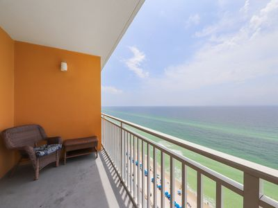 Photo for Privacy & serenity in beachfront condo w/ Gulf view & shared pools/hot tub!