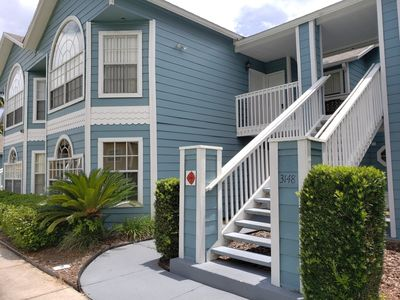 Photo for Balcony – Lake Views – 10-Min Drive to Disney – Villas at Island Club