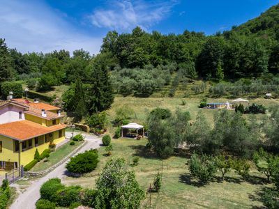 Photo for Holiday Apartment Alla Quercia - Peace and relaxation on the Lucca hills