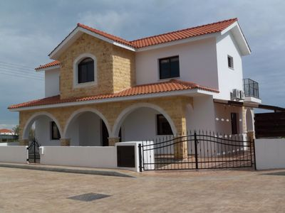 Photo for LUXURY DETACHED VILLA in the village of Frenaros, FREE, CAR, UK TV package