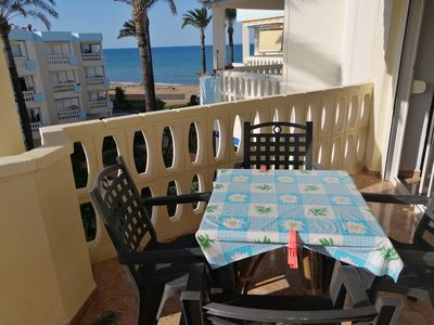 Photo for 2 bedroom apartment with terrace overlooking the sea