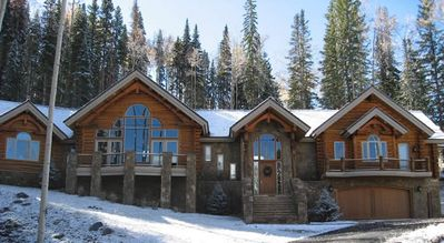Photo for Telluride 5 Bedroom + Loft Luxury Ski-in & Out Log Home